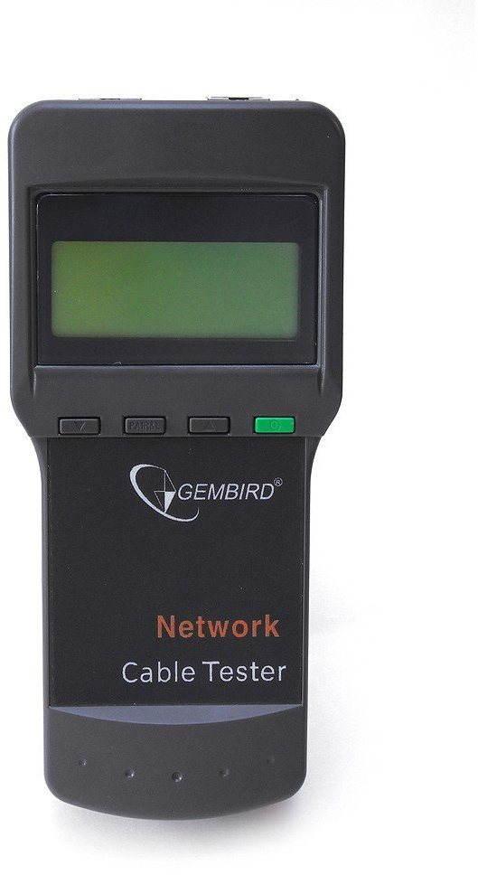 Gembird NCT-3 Ethernet kábel tesztelő RJ11/ RJ45/ RG58 számára