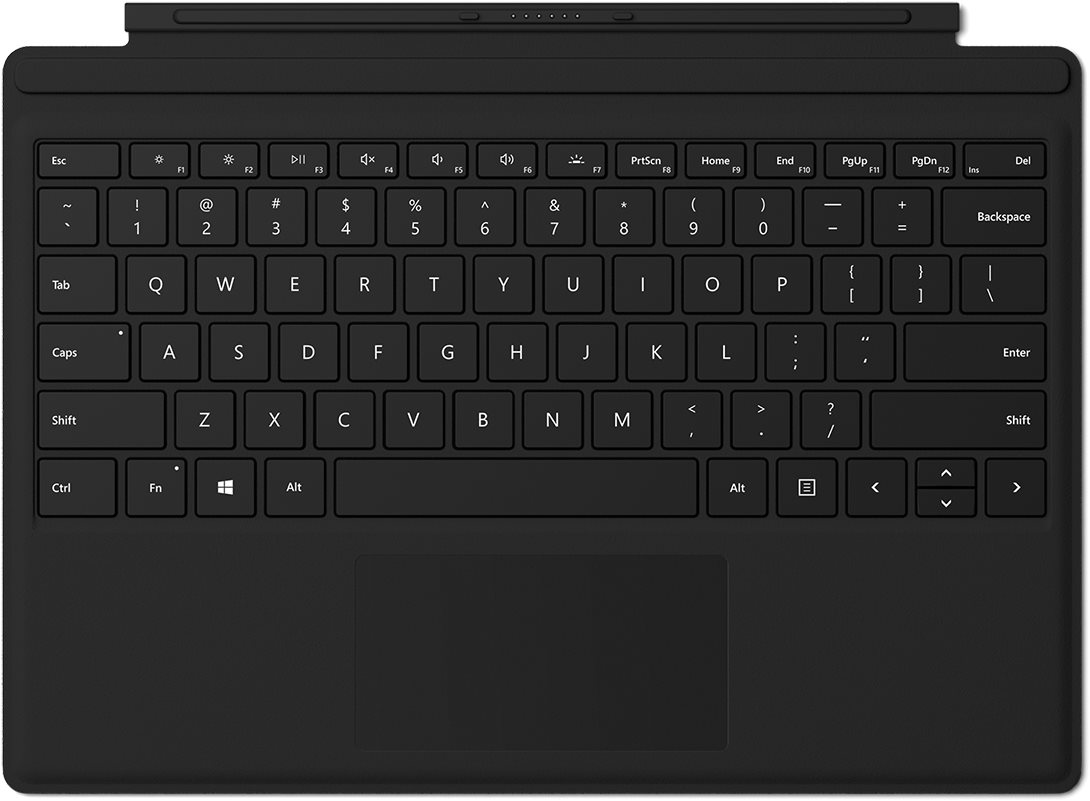 Microsoft Surface Pro Type Cover fekete
