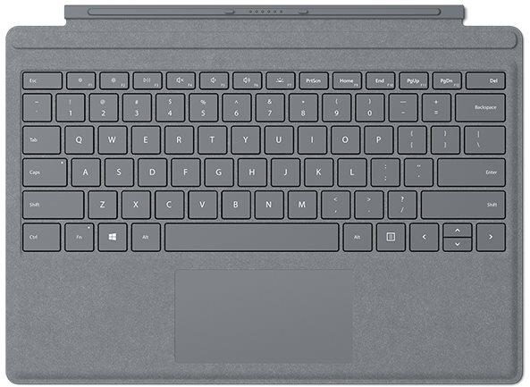 Surface Pro Type Cover Platinum billentyűzet