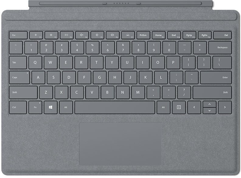 Microsoft Surface Pro Type Cover Lite Charcoal
