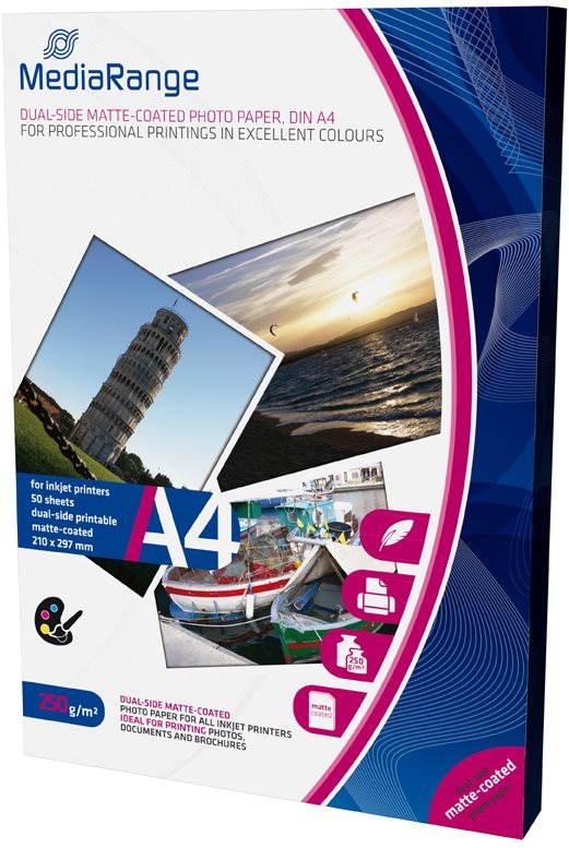 MEDIARANGE A4 50 lap kétoldalas matt