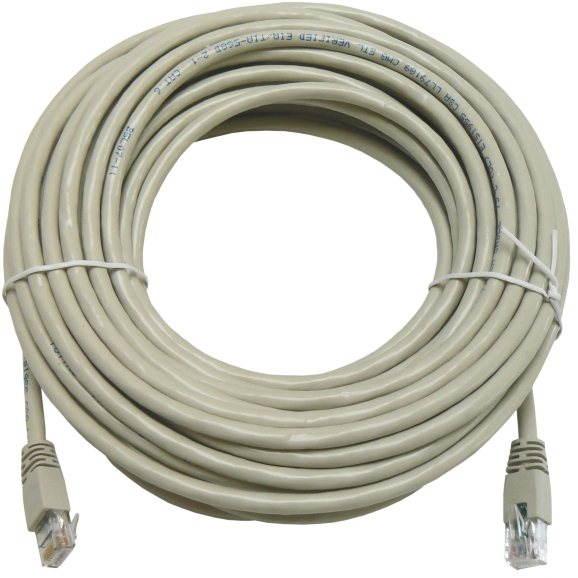 Adatátviteli kábel CAT6, UTP, 15m