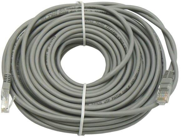 Adatátviteli kábel, Datacom CAT6, UTP, 20m