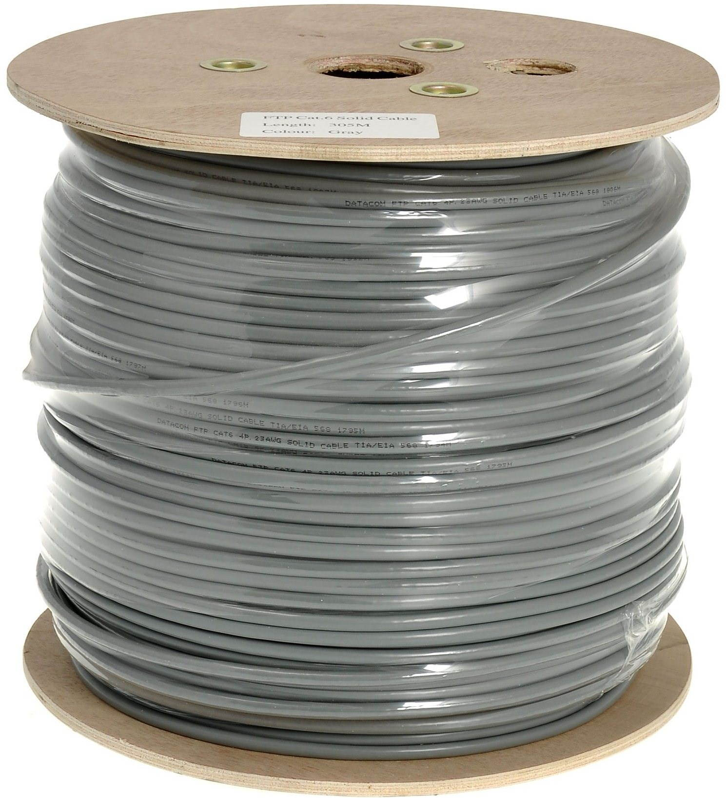 Adatátviteli, Wire, CAT6, FTP, PVC, 500m / tekercs
