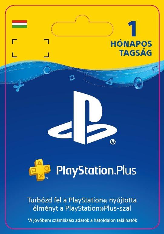 PlayStation Plus 1 hónapos tagság - HU Digital