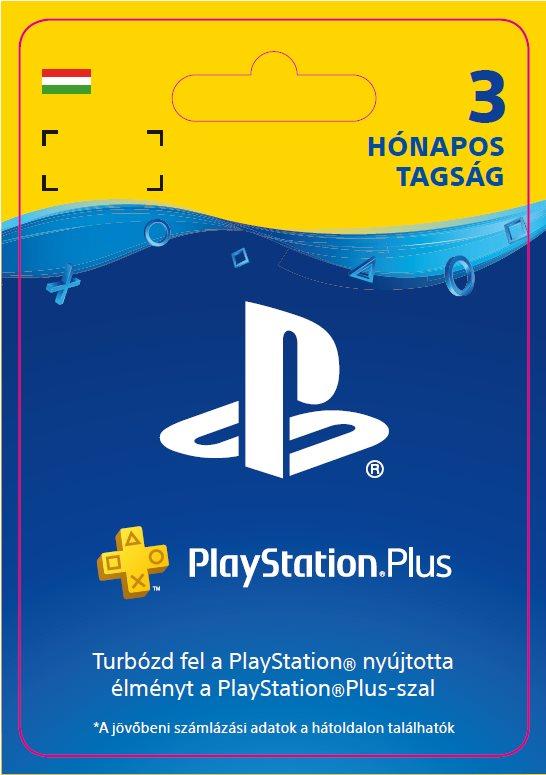 PlayStation Plus 3 hónapos előfizetés - HU digitális