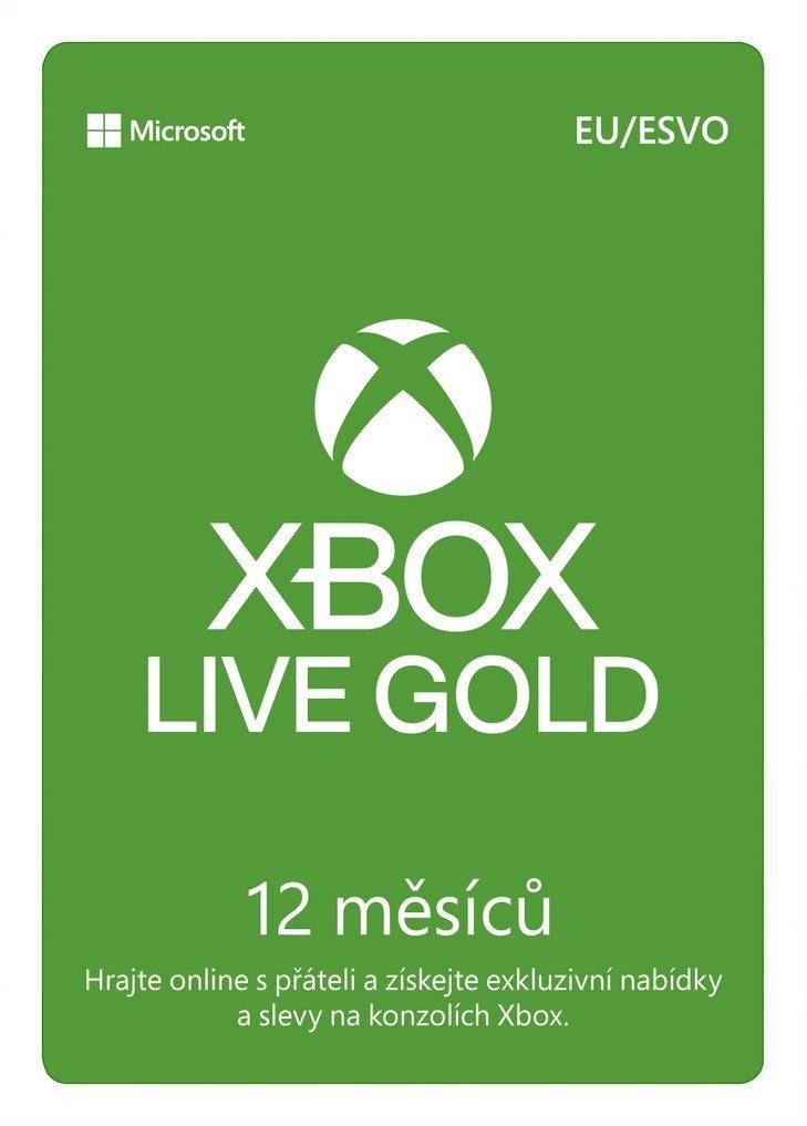 Xbox Live Gold - 12 hónapos előfizetés