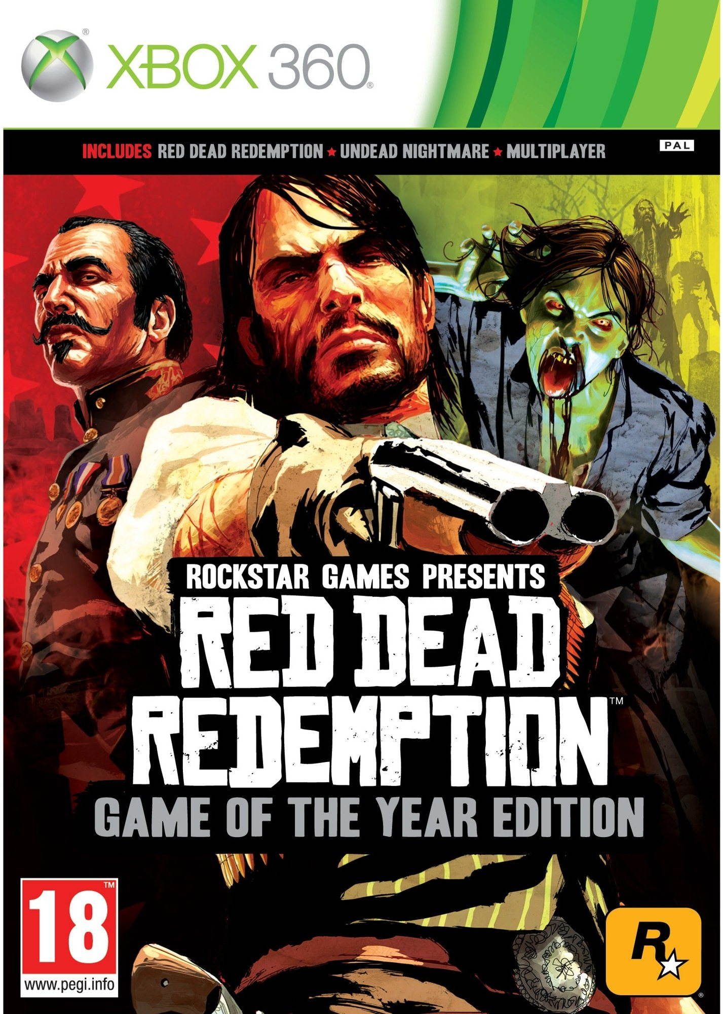 Red Dead Redemption (Game Of The Year) -  Xbox 360