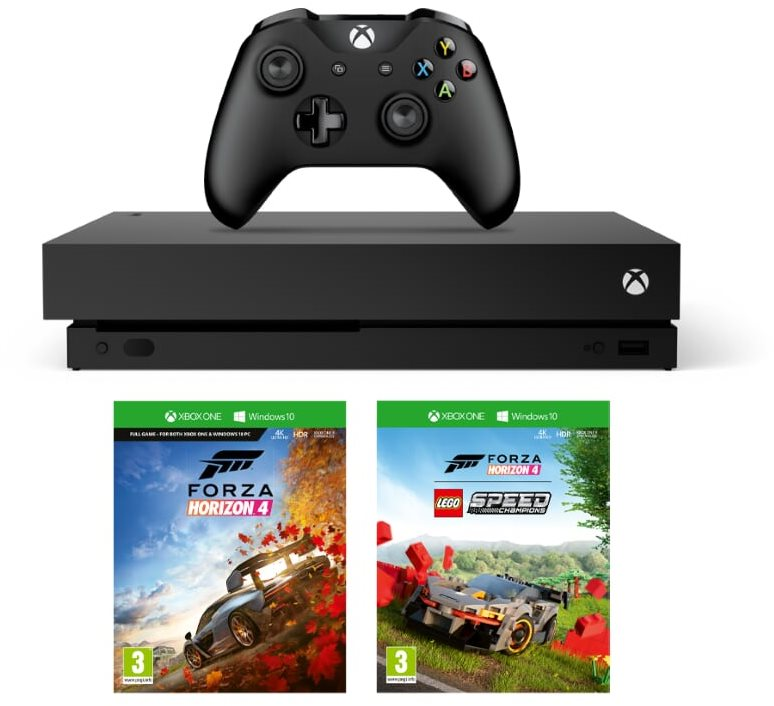 Xbox One X + Lego Forza Horizon 4 Bundle