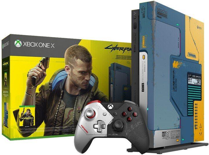 Xbox One X + Cyberpunk 2077 Limited Edition