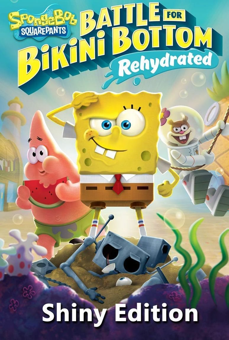Spongebob SquarePants: Battle for Bikini Bottom - Rehydrated Shiny Edition - Xbox One