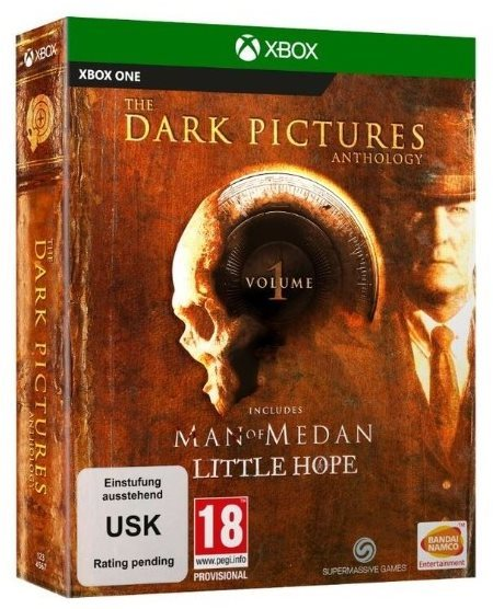 The Dark Pictures Anthology: Volume 1 - Man of Medan and Little Hope Limited Edition - Xbox One