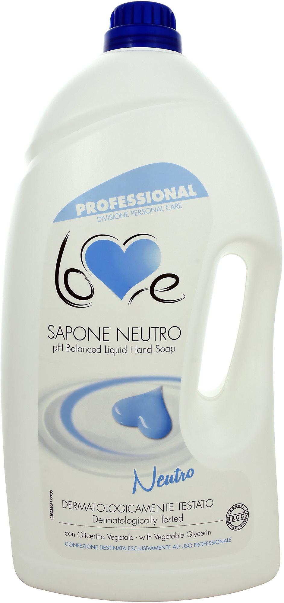 Love Sapone Neutro Latte 5 l