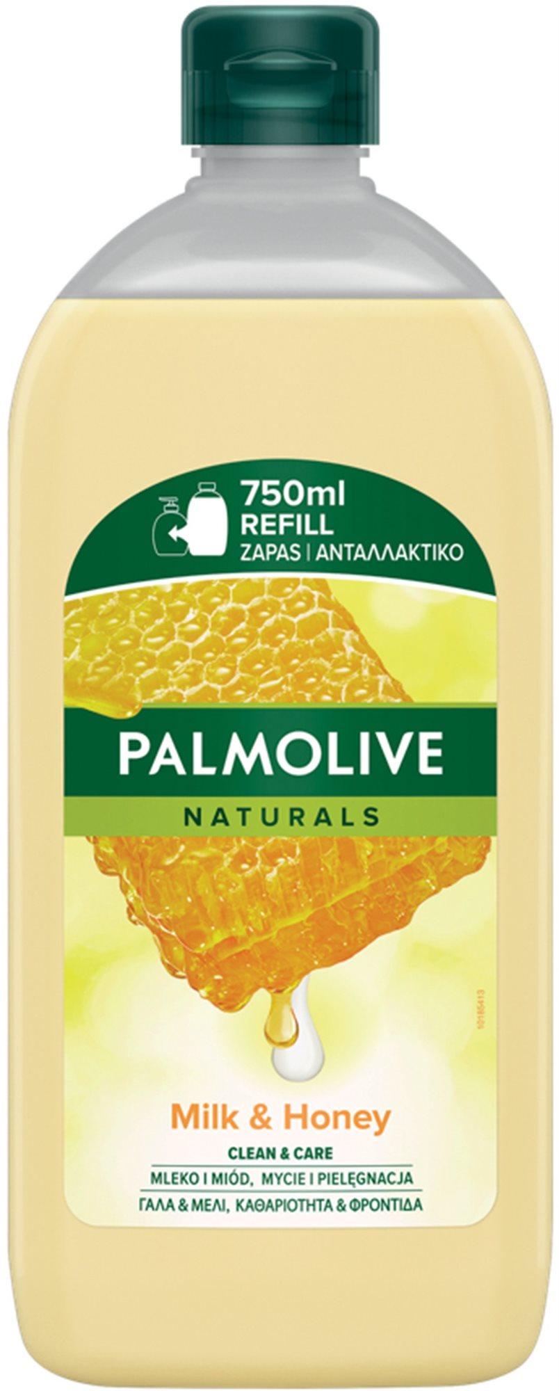 PALMOLIVE Tej & Méz utántöltő 750 ml