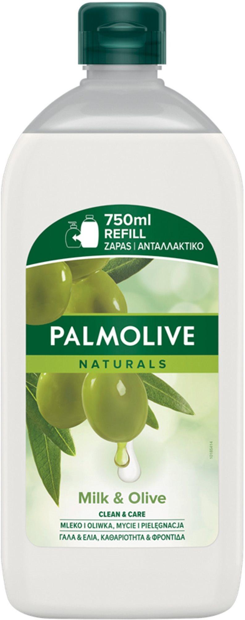 PALMOLIVE Naturals Ultra Moisturization folyékony szappan utántöltő olíva és aloe kivonattal - 750 ml utántöltő