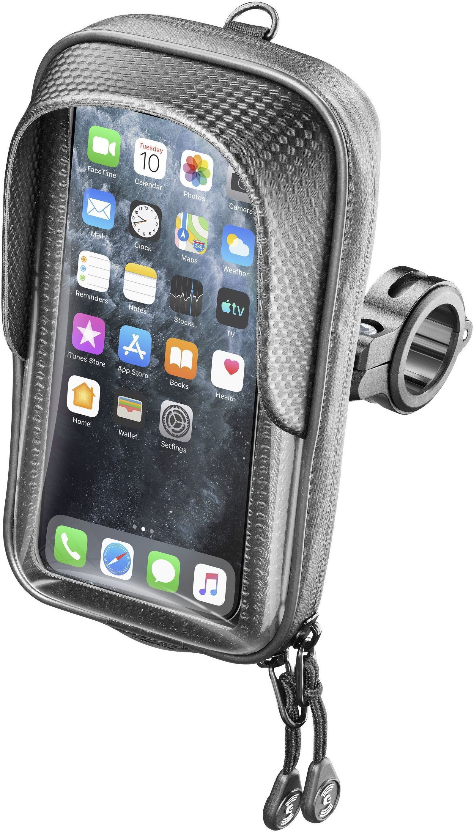Interphone Master Kormányra rögzíthető tartó
