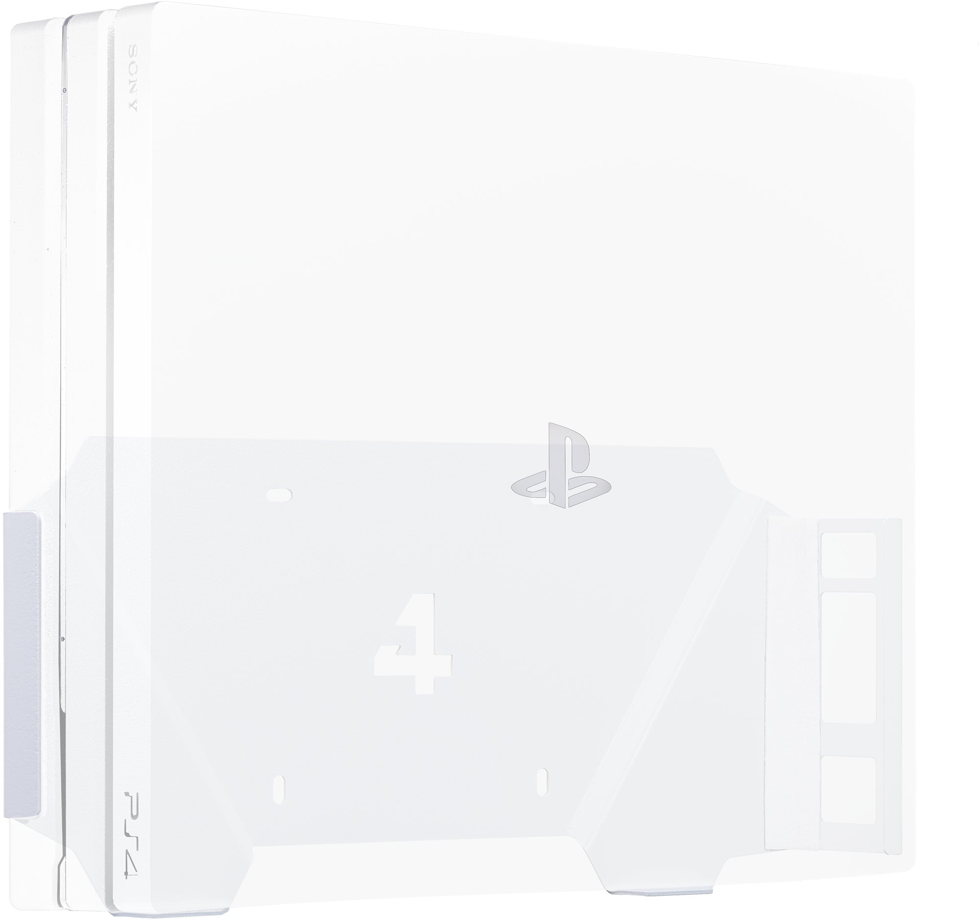 4mount - Wall Mount for PlayStation 4 Pro White