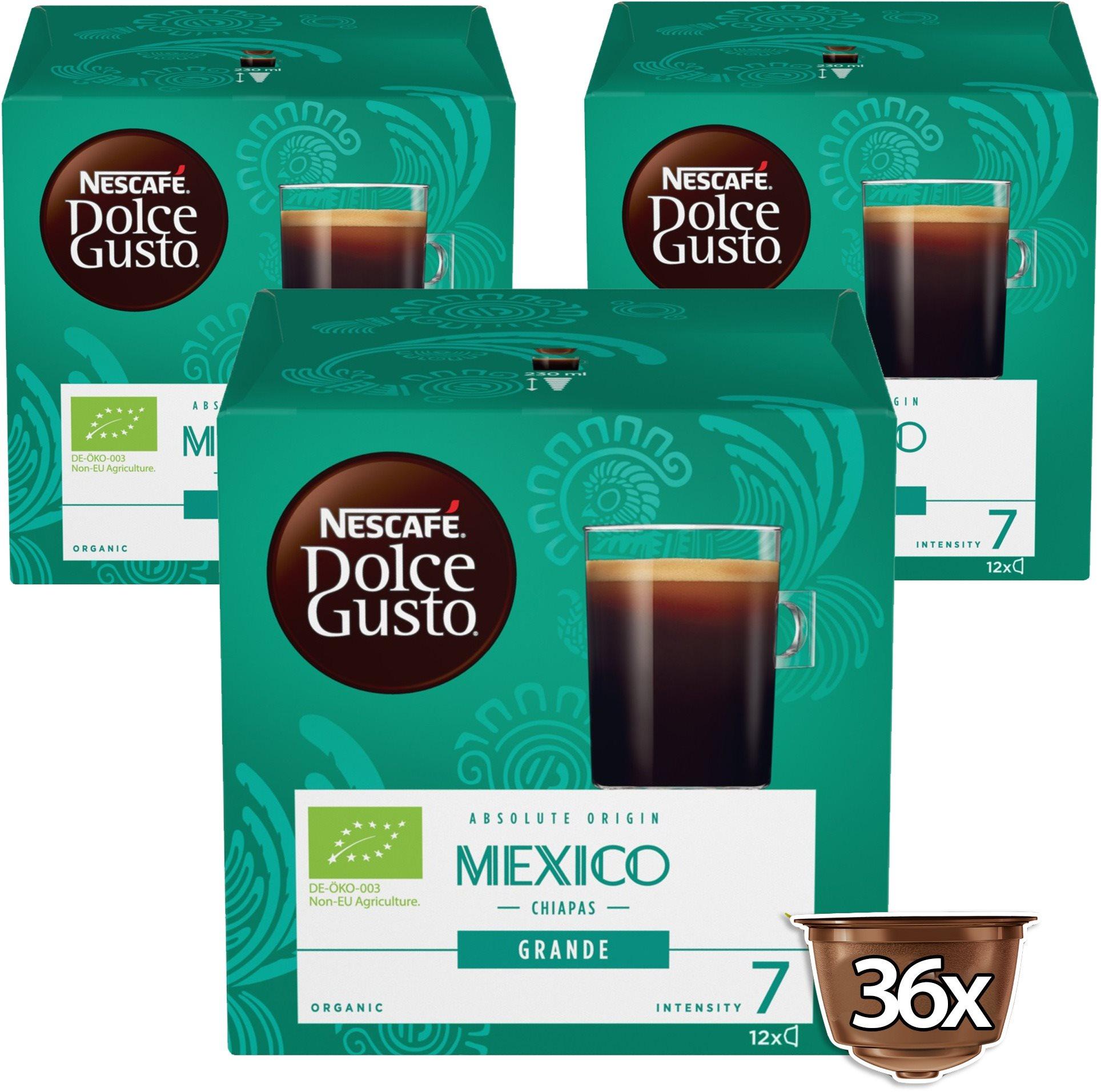 NESCAFÉ Dolce Gusto Mexico, 3 csomag