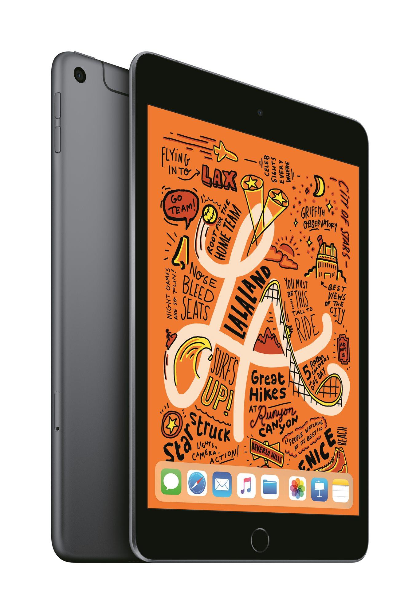 iPad mini 256GB Cellular 2019, asztroszürke