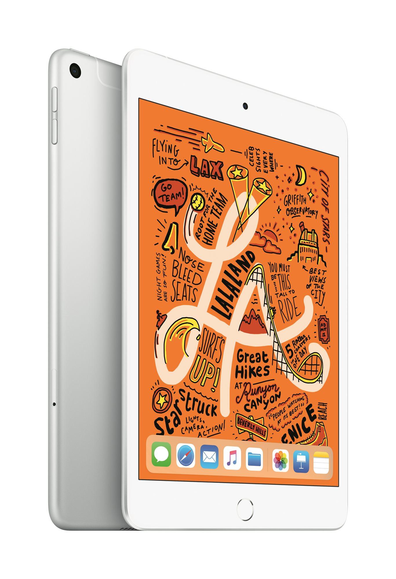 iPad mini 256GB Cellular 2019, ezüst