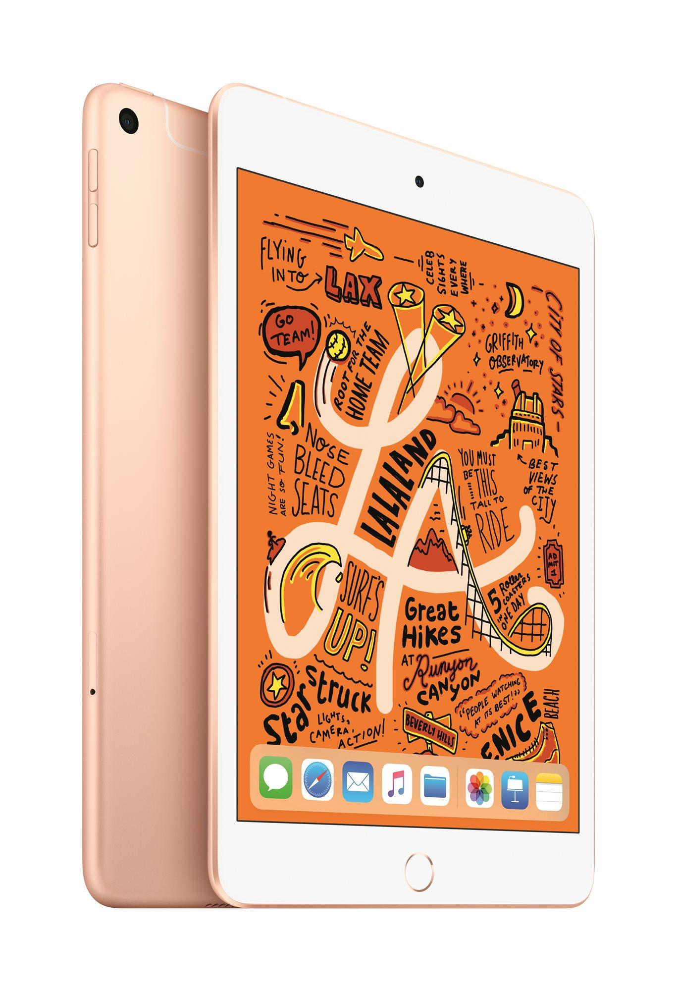iPad mini 256GB Cellular 2019, arany