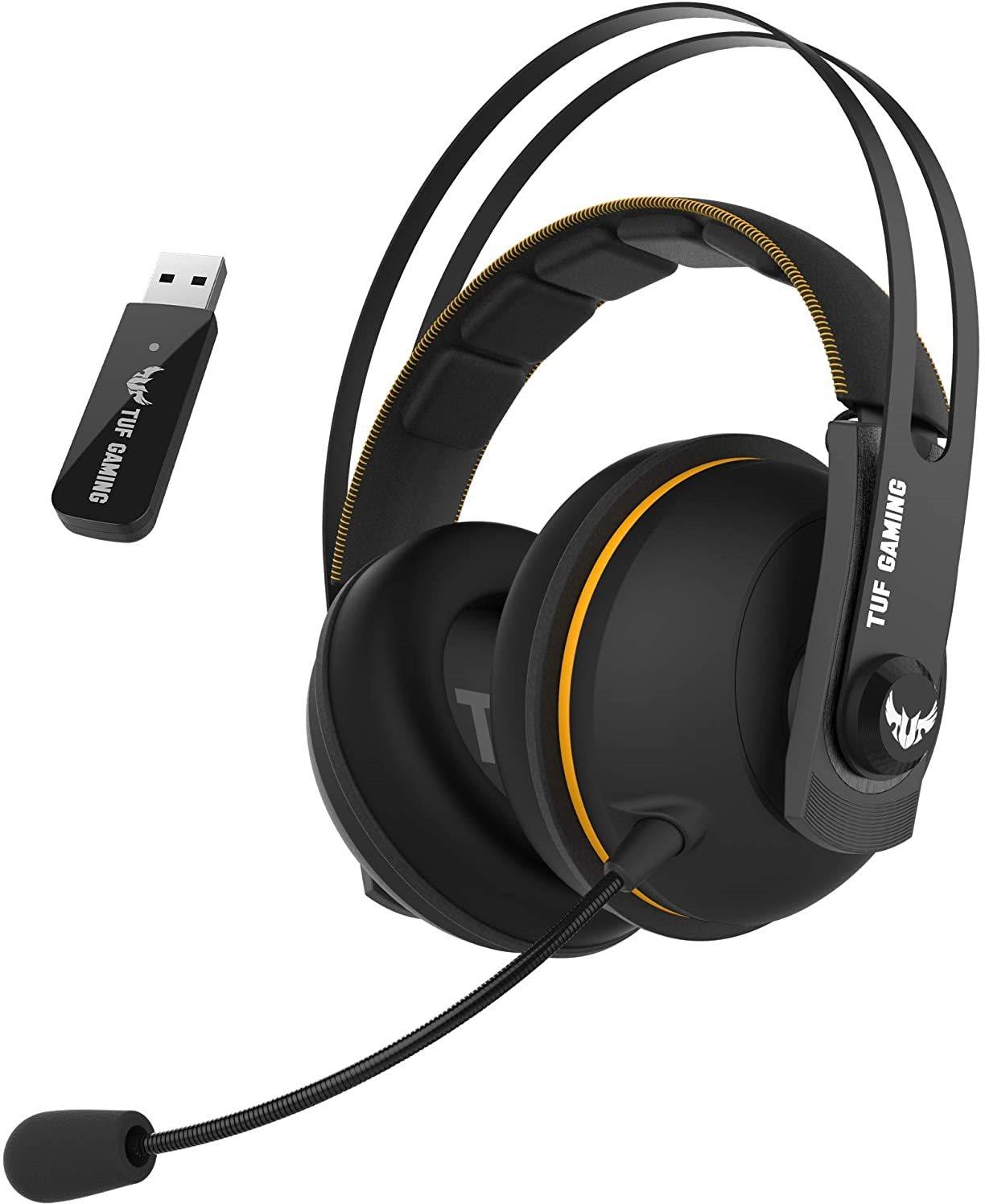 ASUS TUF Gaming H7 Wireless Yellow