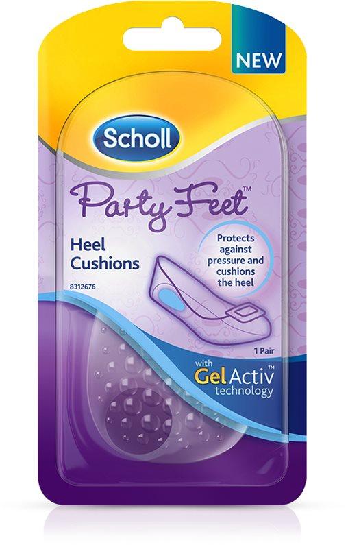 SCHOLL Party Feet GelActiv lúdtalpbetét a sarok alá - 1 pár
