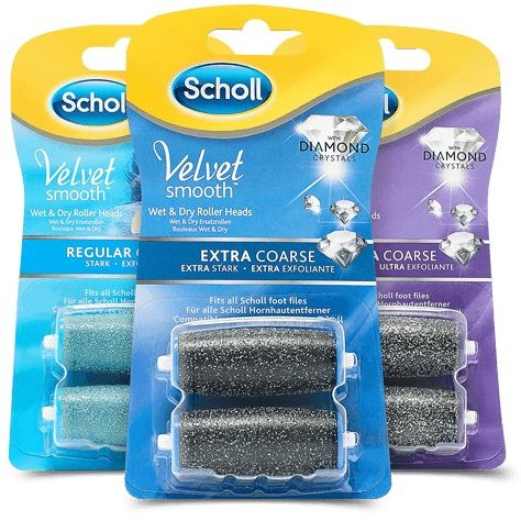 SCHOLL Velvet Smooth forgófej, 2 + 1 csomag