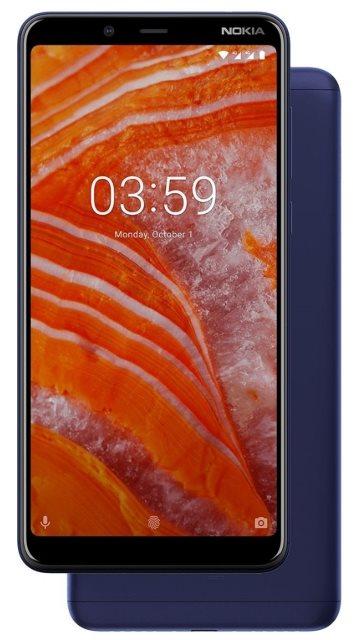 Nokia 3.1 Plus Dual SIM, kék