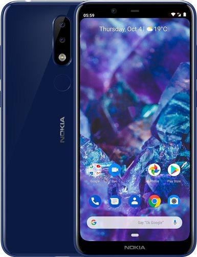 Nokia 5.1 Plus, kék