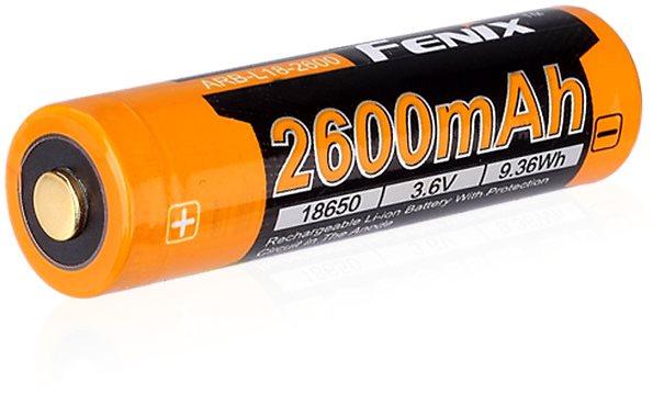 Fenix ??18650 újratölthető USB akkumulátor 2600 mAh (Li-ion)