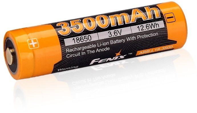 Fenix ??18650 újratölthető USB akkumulátor 3500 mAh (Li-ion)