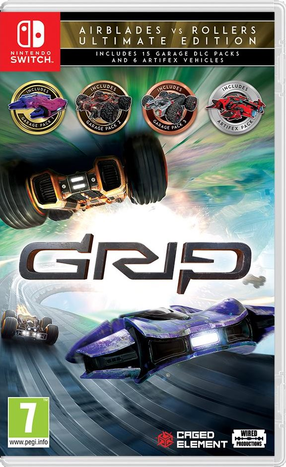 GRIP: Combat Racing - Rollers Vs Airblades Ultimate Edition - Nintendo Switch