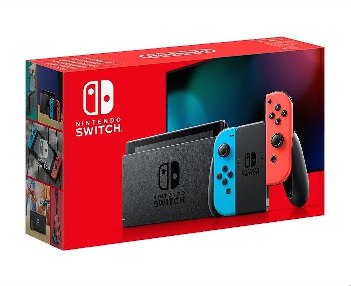 Nintendo Switch - Neon Red&Blue Joy-Con