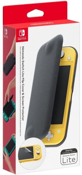 Nintendo Switch Lite Flip Cover és képernyővédő fólia