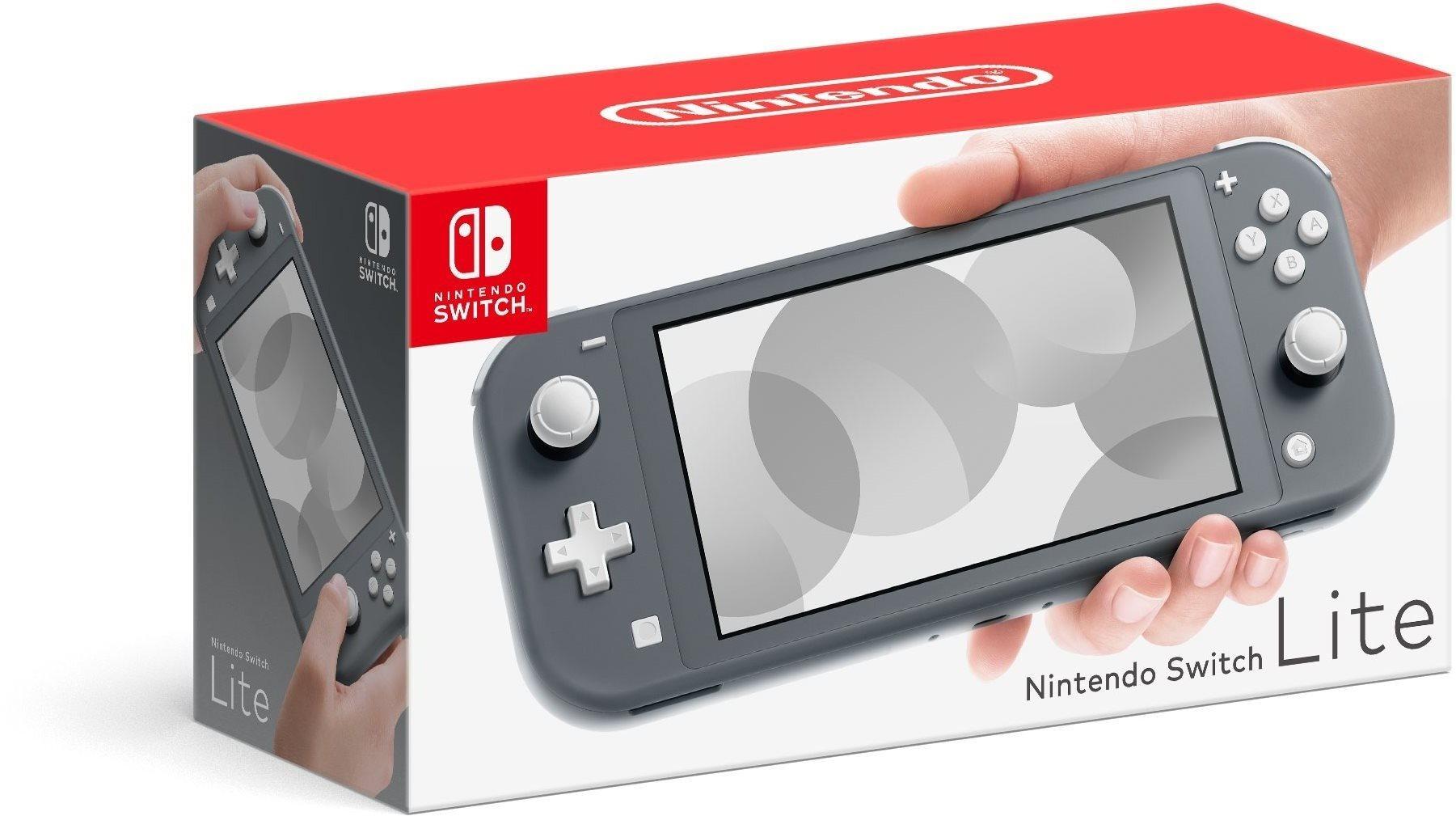 Nintendo Switch Lite, szürke
