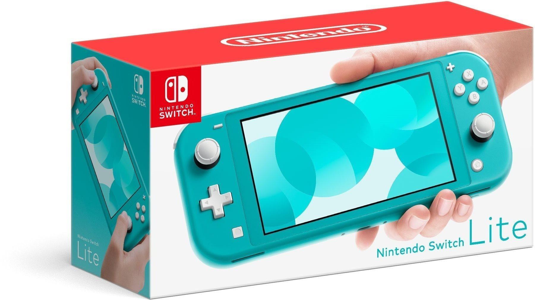 Nintendo Switch Lite, türkiz