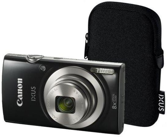 Canon IXUS 185 fekete Essential Kit