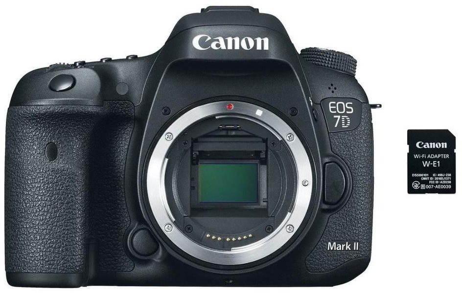 Canon EOS 7D Mark II váz + W-E1 adapter
