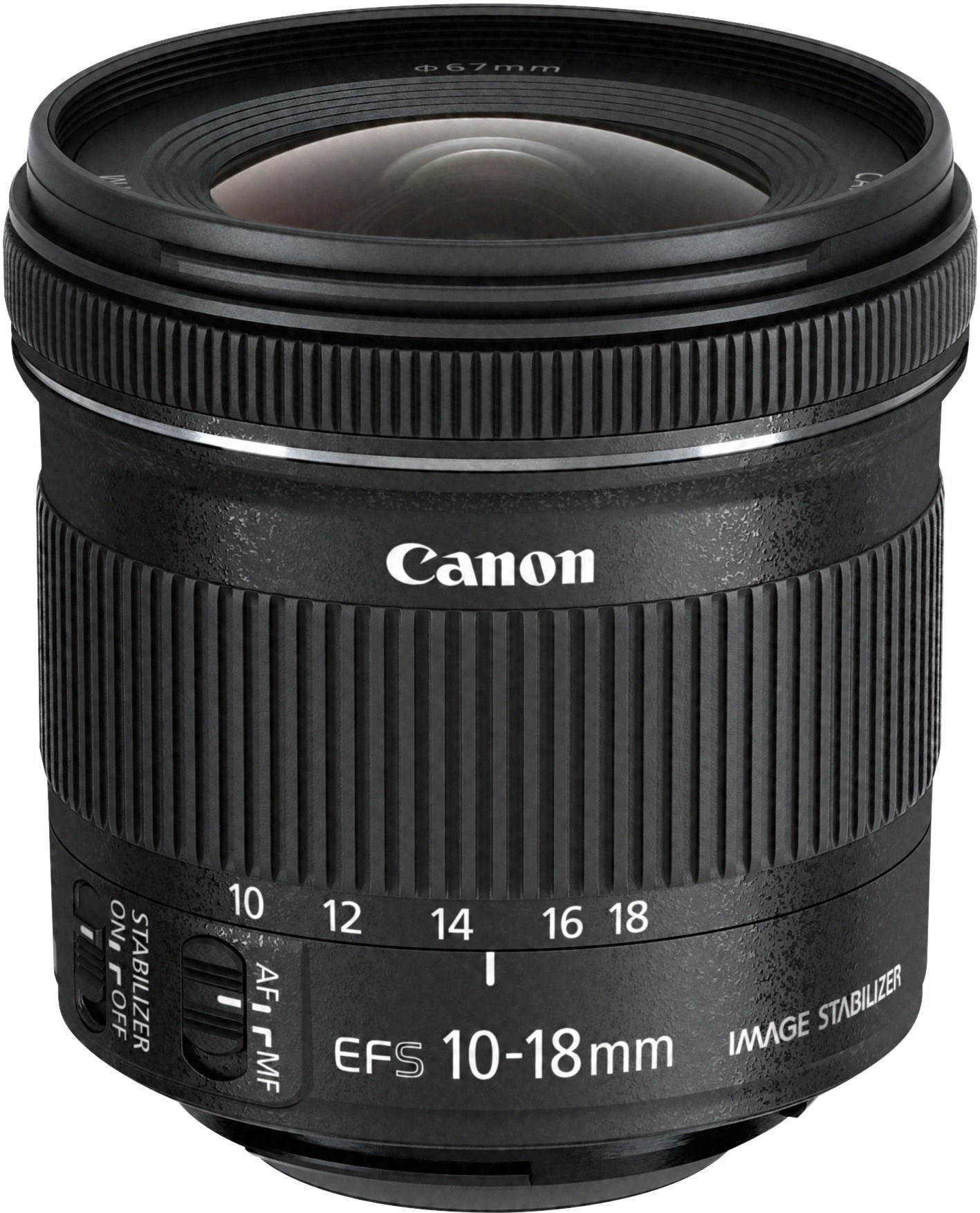 Canon EF-S 10-18mm F4.5 - 5.6 IS STM