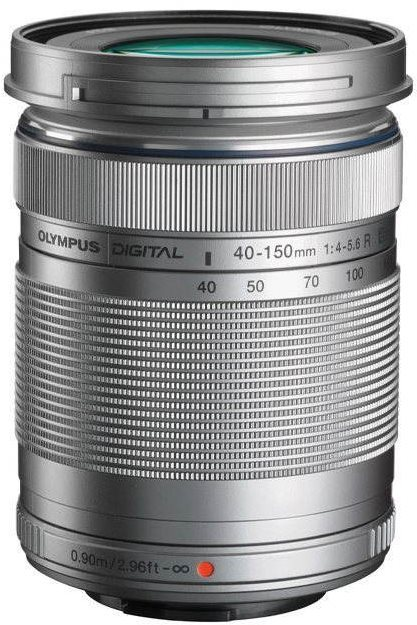M.ZUIKO DIGITAL ED 40-150 mm R silver