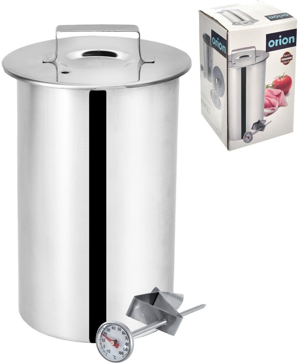 ORION Rozsdamentes acél kalapács 10 cm-es hőmérővel