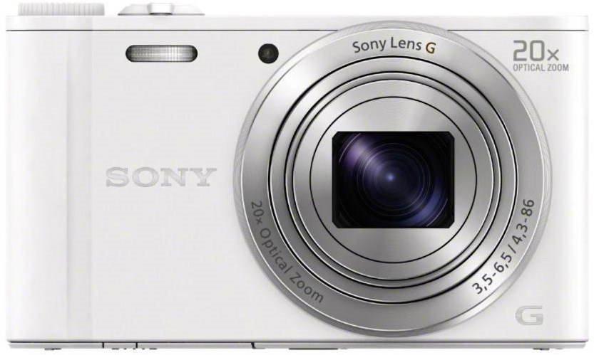 Sony Cybershot DSC-WX350 fehér digitális fényképezőgép
