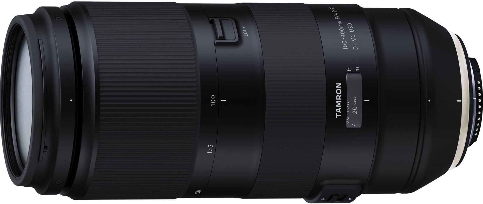 TAMRON 100-400 mm F / 4,5-6,3 Di VC USD Canon