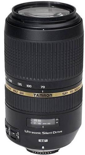 TAMRON AF AF 70-300mm f / 4-5.6 Di VC USD Nikon fényképezőgépekhez