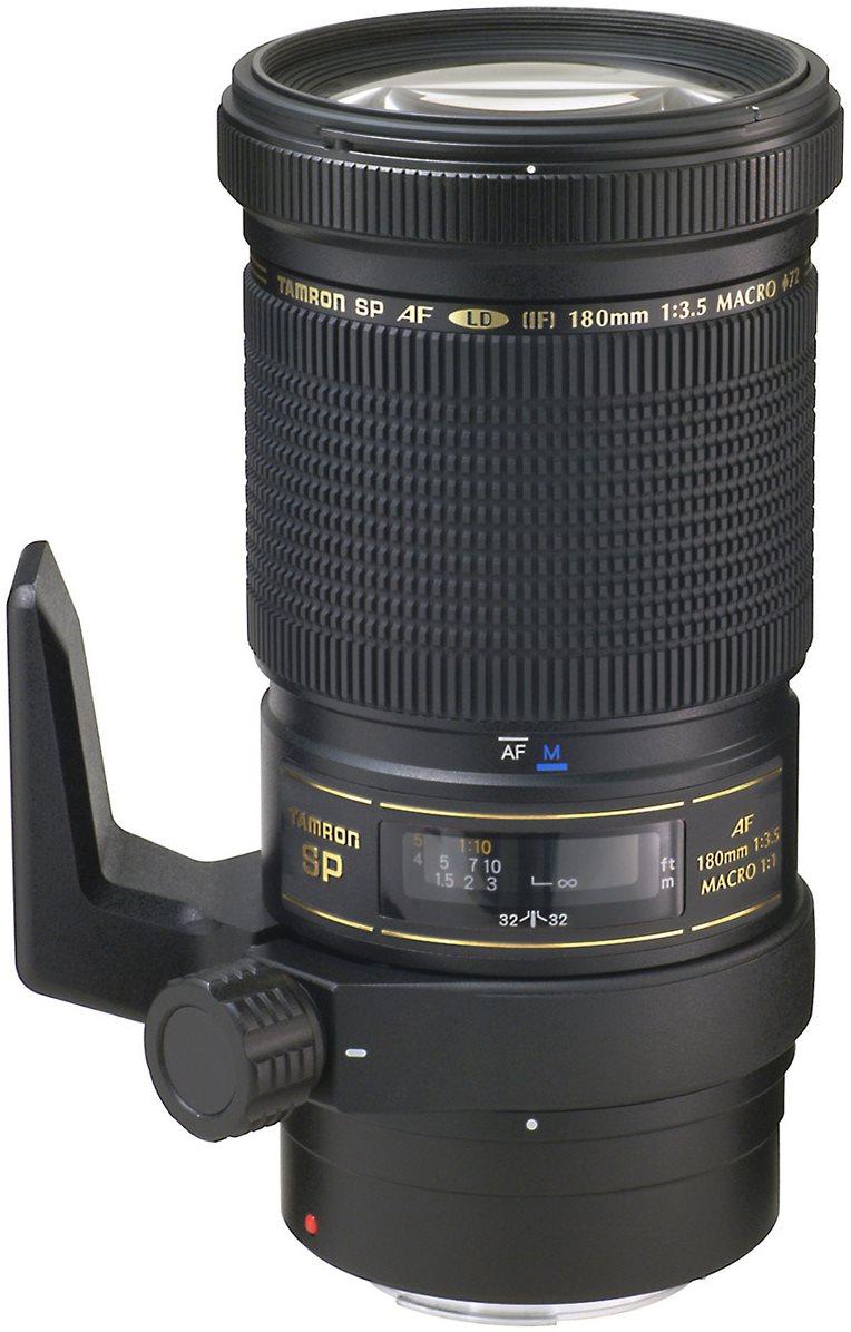TAMRON SP AF 180 mm f / 3.5 Di LD Canon Asp.FEC (IF) Macro