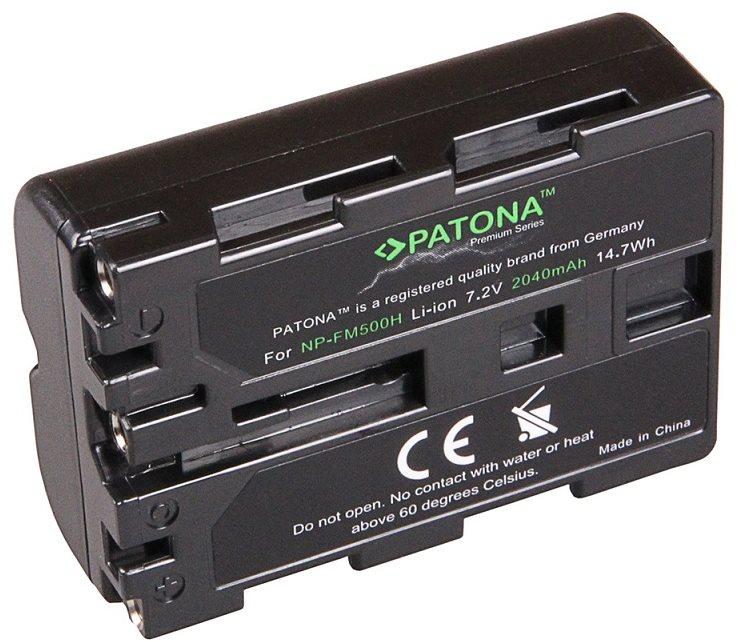 PATONA Sony NP-FM500H 2040mAh Li-Ion prémiumhoz
