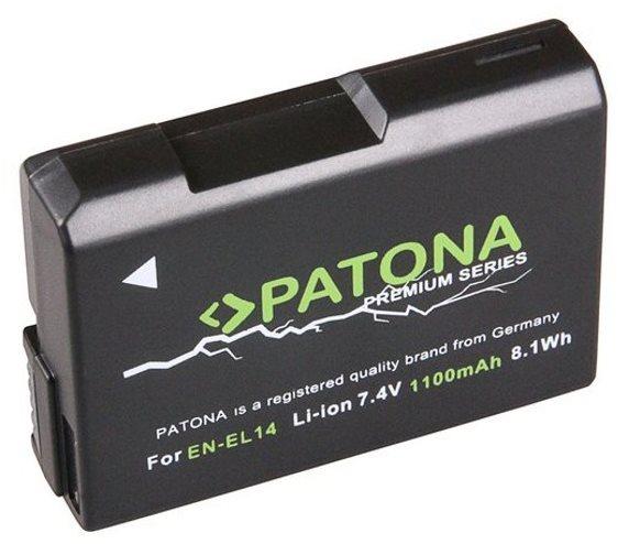 PATONA a Nikon EN-EL14 1100mAh Li-Ion prémiumhoz