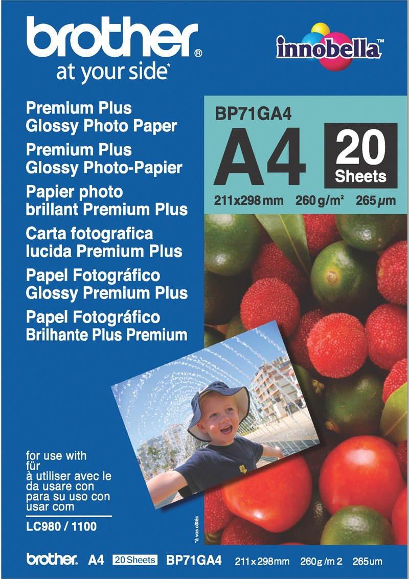 Brother BP71GA4 Premium Glossy