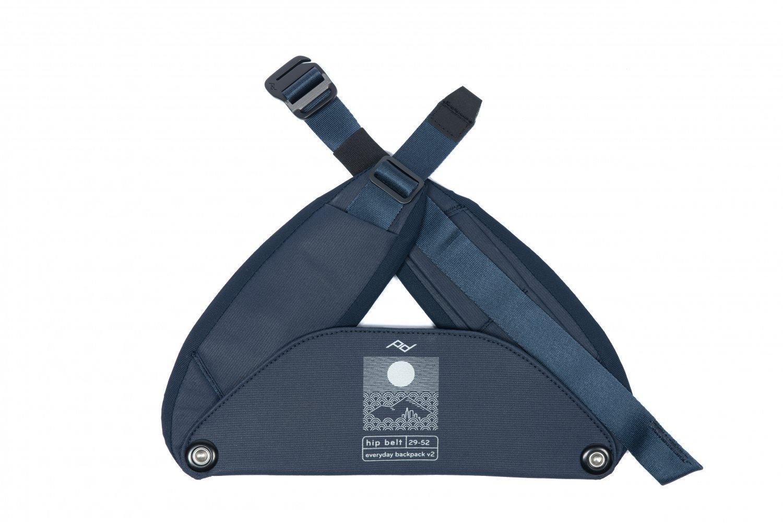 Peak Design Everyday Hip Belt v2 - Nagy - Éjfél kék